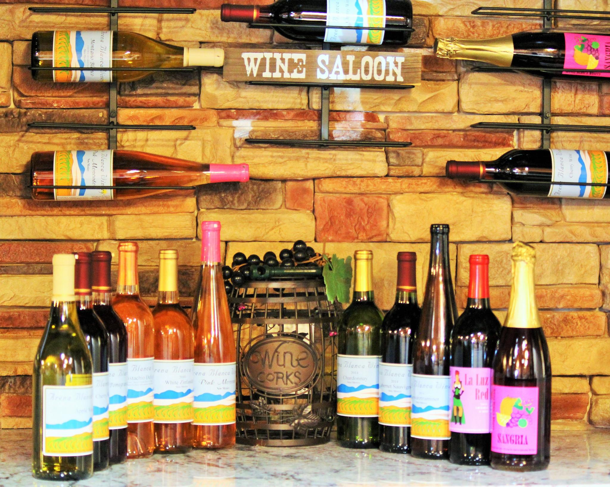Arena Blanca Wine Tasting Room