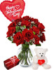 Roses, Chocolates, Plush and Balloon Special
