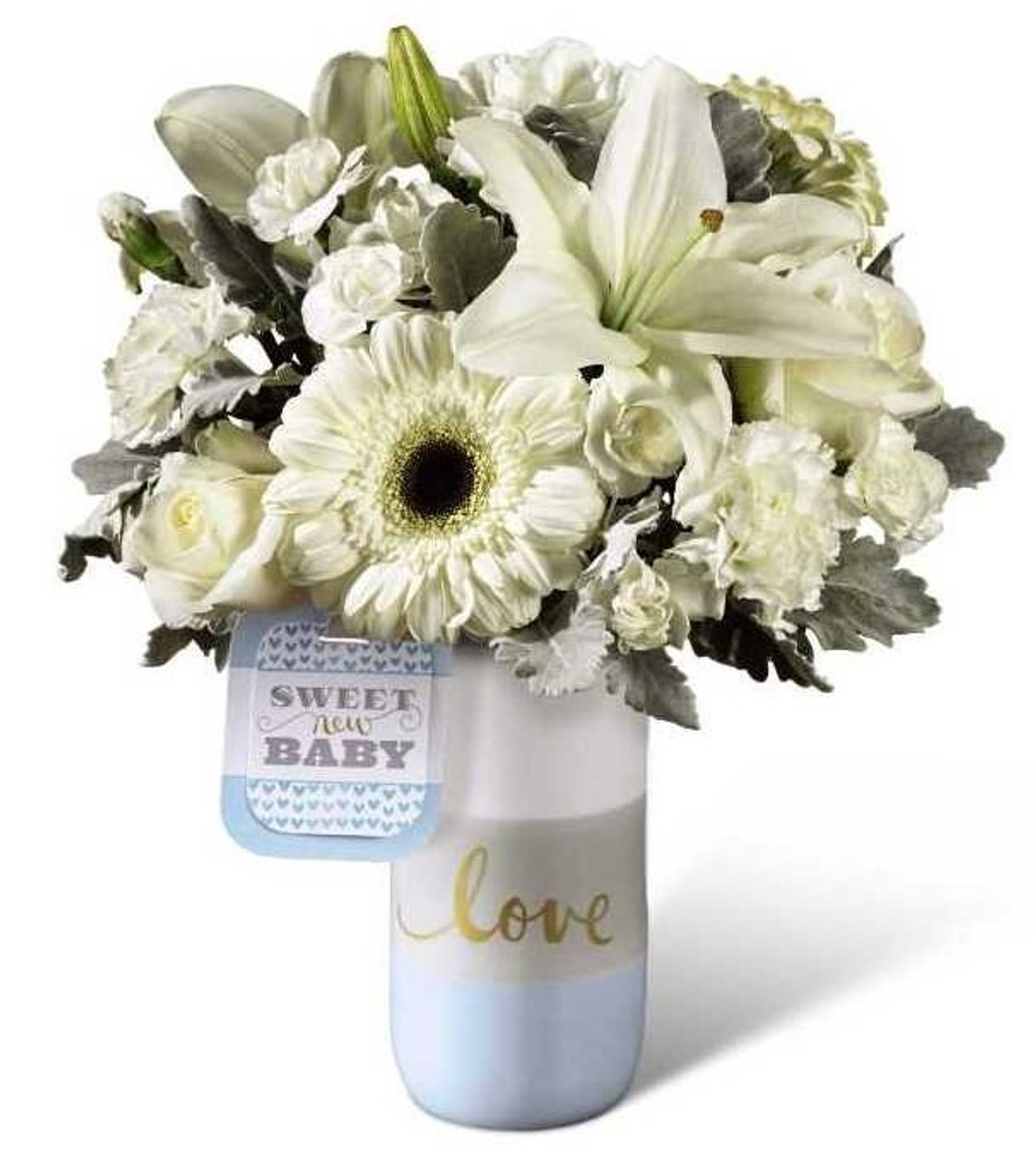 FTD Sweet Baby Boy Bouquet - Georgetown Flowers & Gifts