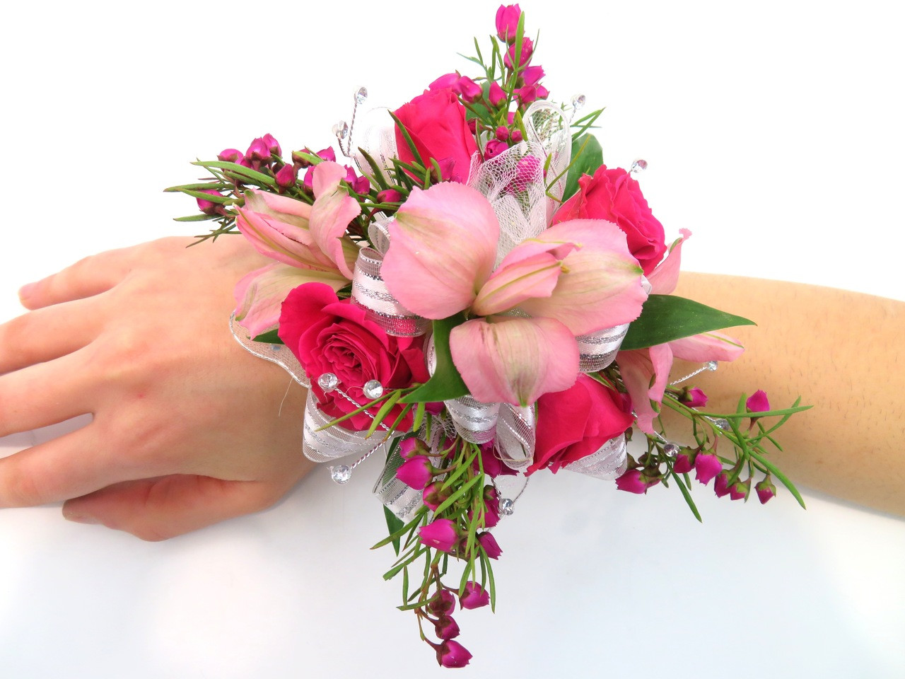 Mixed flower prom corsage georgetown flowers gifts mixed flower prom corsage izmirmasajfo