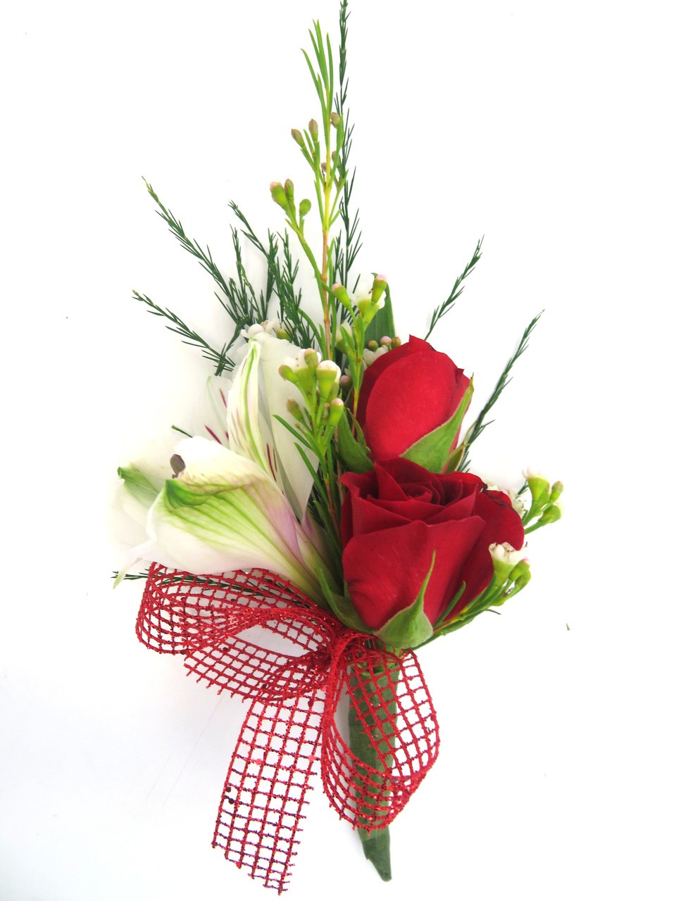 Mixed Flower Prom Boutonniere - Georgetown Flowers & Gifts