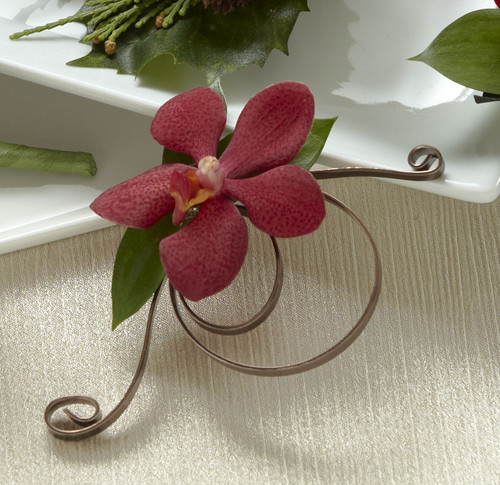 TheRed Mokara Boutonniere