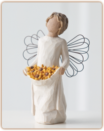 Sunshine Willow Tree Angel by Susan Lordi