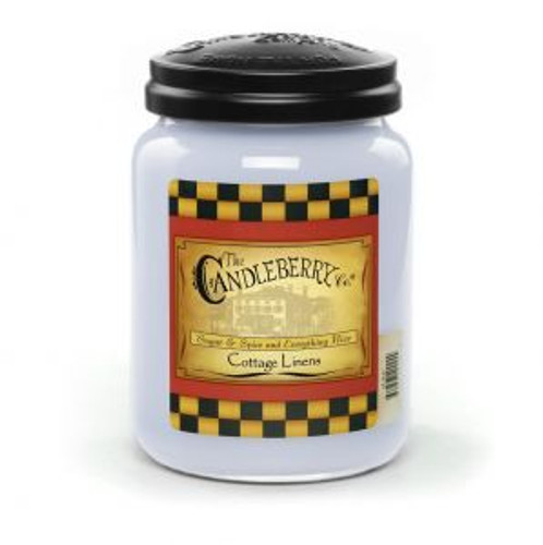 Cottage Linens Candleberry Candle