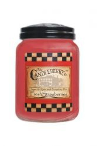 Fresh Strawberries Candleberry Candle