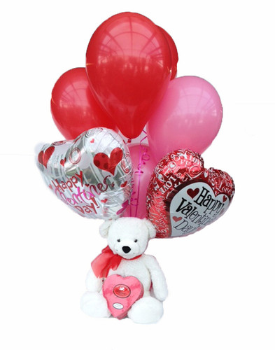 Chocolates, Plush and Balloons