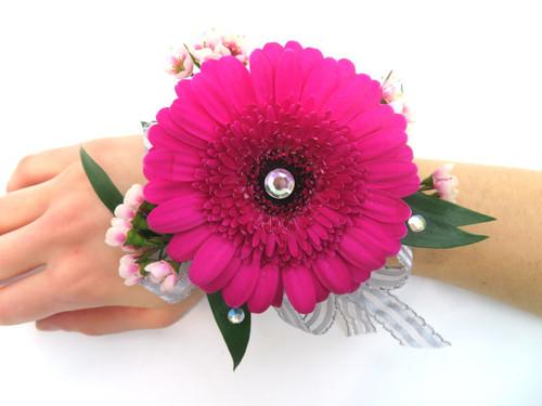 Gerbera Daisy Prom Corsage