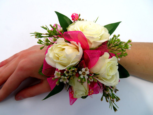 Single Flower with Premade Base Corsage