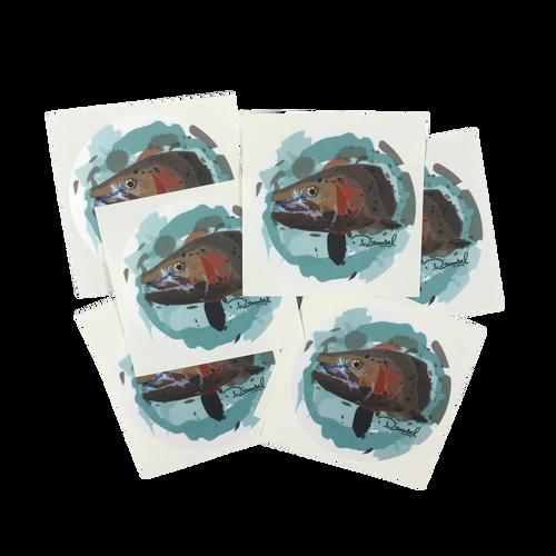 Damsel Sticker