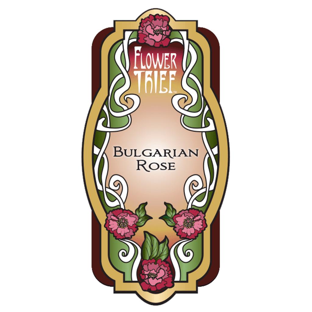 Flower Thief - Bulgarian Rose Perfume Label