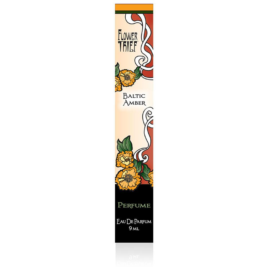 Flower Thief perfumes by Elixery- Baltic Amber Perfume Box
