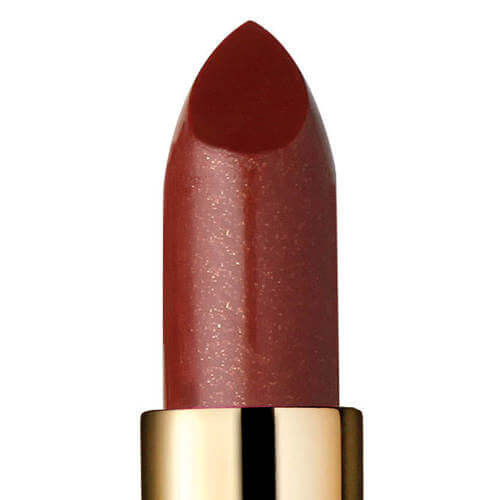 Closeup of Devious, a sheer natural looking lipstick