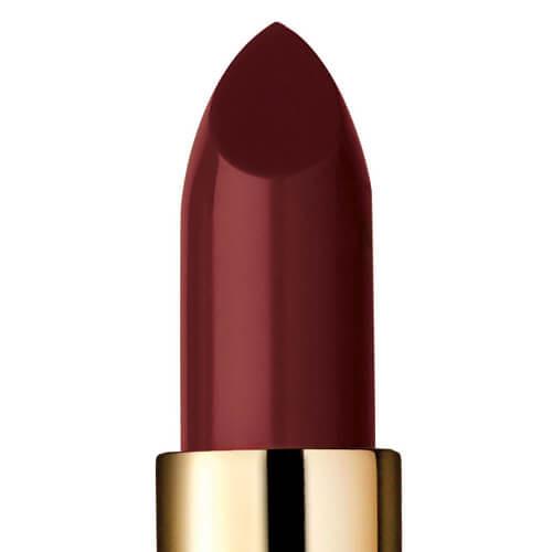 """Closeup of """"Quantum,"""" a dark plum lipstick"""