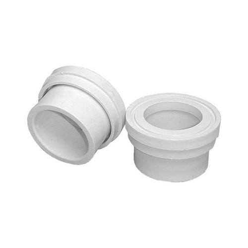 "PVC Tail Piece - 1-1/2"" Flange x 1-1/2"" Spigot"