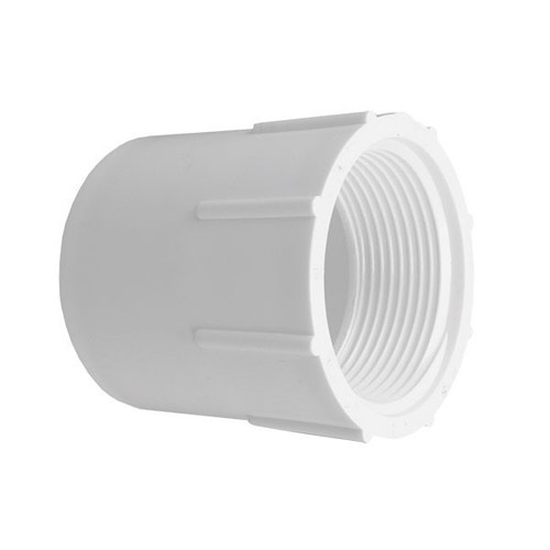 "PVC Female Adapter - 1-1/4"" Slip x 1-1/4"" FPT"