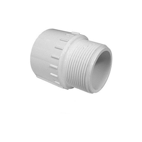 "PVC Male Adapter - 1-1/2"" Slip x 1-1/2"" MPT"