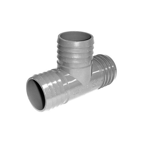 "PVC Insert Fitting Tee- 2"" Barb"