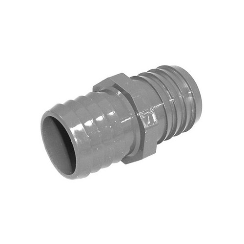 "PVC Insert Fitting Coupling - 1-1/2"" Barbed"