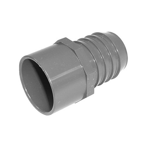 "PVC Insert Fitting Adapter - 1-1/2""SP x 1-1/2"" Barb"