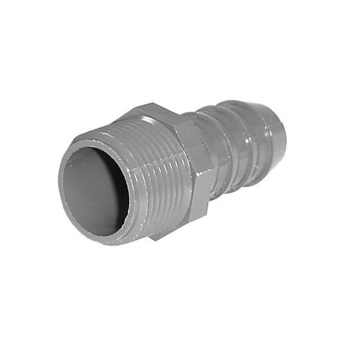 "PVC Insert Fitting Male Adapter - 3/4"" Barb x 3/4"" MPT"
