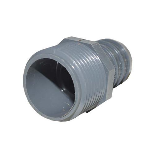 "PVC Insert Fitting Male Adapter - 1"" Barb x 1"" MPT"