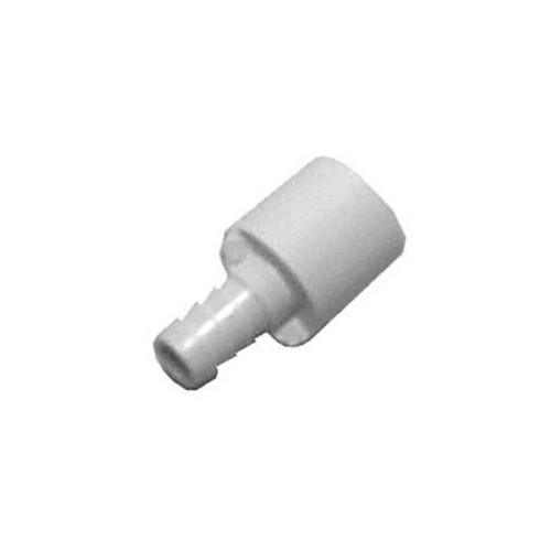 """PVC Barb Adapter - 1/2"""" Spigot x 3/8"""" Barb"""