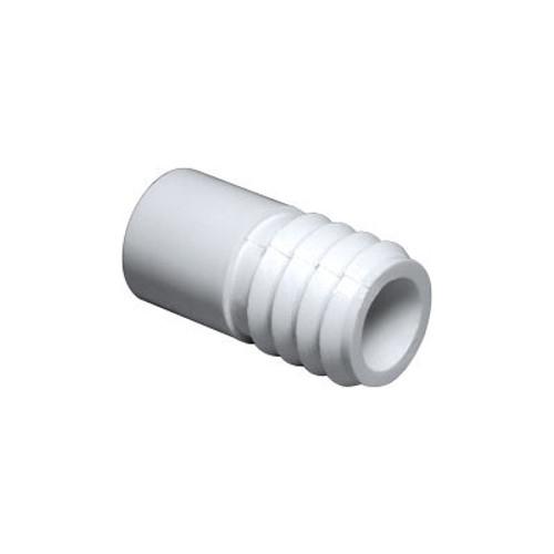 """PVC Barb Adapter - 1/2"""" Spigot x 3/4"""" Barb"""
