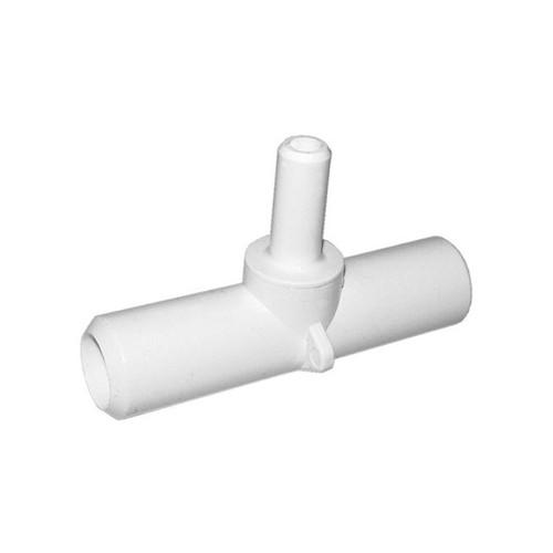 """PVC Adapter Tee - 3/4""""SB x 3/4""""SB x 3/8""""SB"""