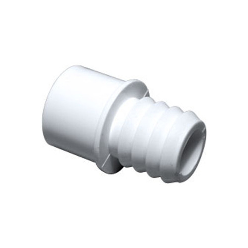 "PVC Adapter - 3/4"" Slip/ 1"" Spigot x 1"" Barb"