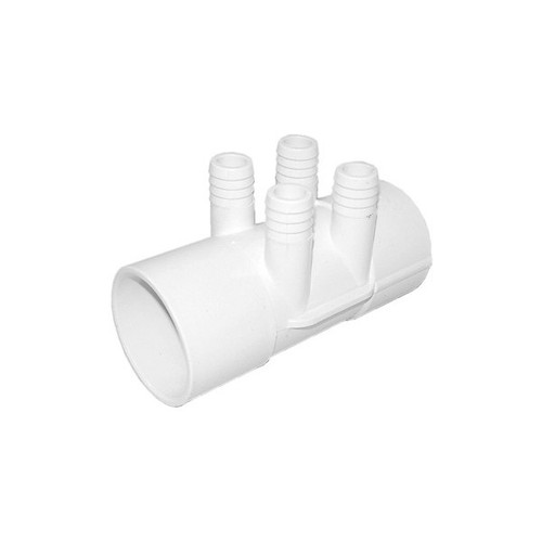 "Waterway Manifold Shur Grip - 2"" S x 2""S x (4) 3/4"" Barb"