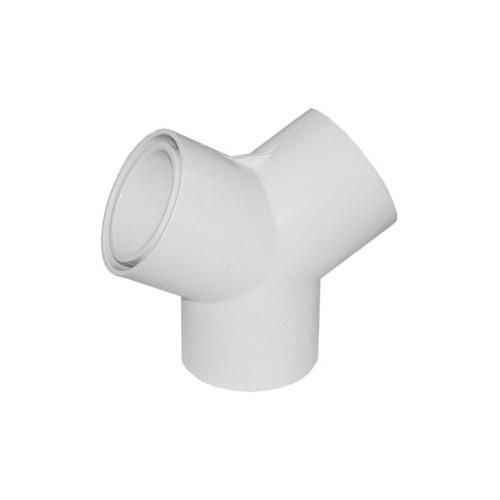 """Waterway PVC 120° Wye – 2″ S x 1 ½"""" S x 1 ½"""" S"""