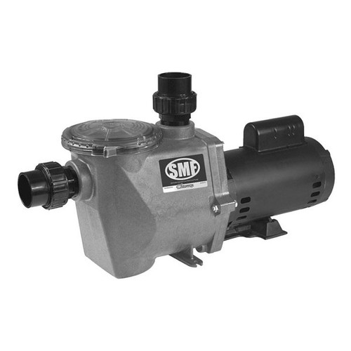 Waterway Inground Pool Pump, SMF Max Flo 1-1/2HP 1SPD 115/230V