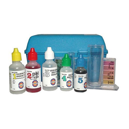 "Pentair ""All in One"" 4 Way Chlorine Test Kit"