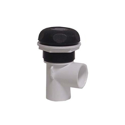 "600-4361 Waterway Valve - 1"" On/Off (Complete Assembly - Black)"