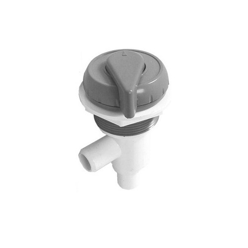 "600-4757 Waterway On/Off Valve - 3/4"" Shur Grip (Complete Assembly - Grey)"