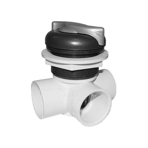 "600-3329DSG-PS Waterway Diverter Valve 1"", S Handle"