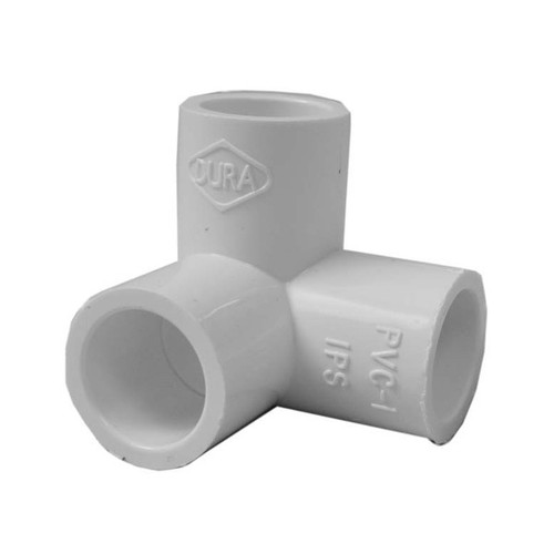 "PVC Elbow - 1/2"" Side Outlet, 90 Degree"