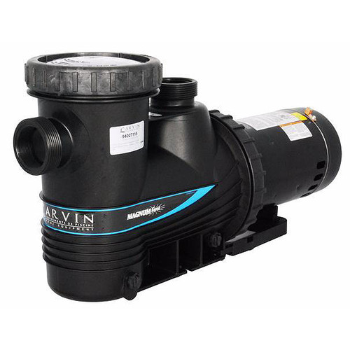 Magnum Force 1 HP Inground Pool Pump, 1SPD, 115/230V