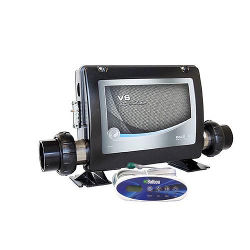 Balboa VS500Z single pump spa pack kit with mini oval topside