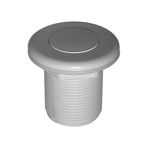 "Balboa 1/8"" Flush Top Air Button, White"