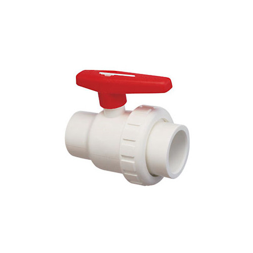 "Ball Valve 1-1/2"" Slip x 1-1/2"" Slip Single Union"