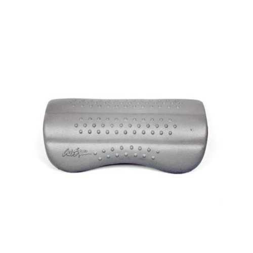 Cal Spa Pillow - Cancun, Silver with Nubs