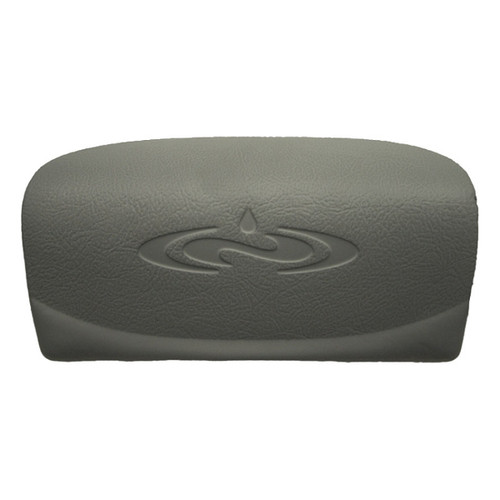 Dimension One Curved Logo Pillow - Grey