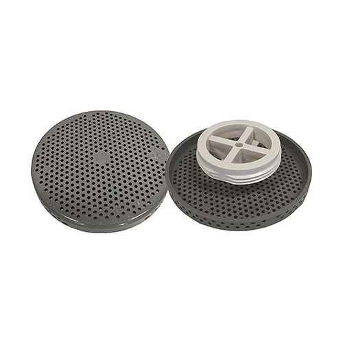 Low Profile thread in suction/drain cover