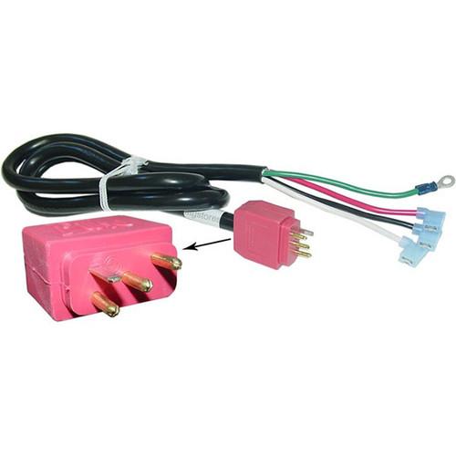 Pump cord with mini J&J plug. 240V. 2 speed pumps