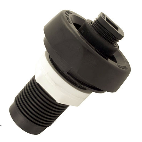 Black drain valve for hot tub 1""