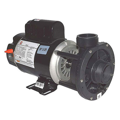 "Waterway 3/4HP 2 Speed 48 Frame 120 Volt Pump 1.5"" in-out, center discharge"