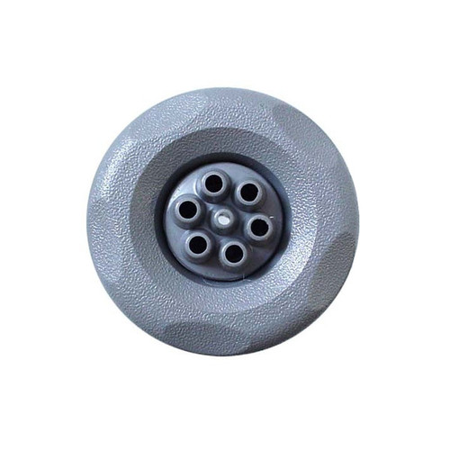 "Waterway 3"" Mini-Storm Multi Massage Jet - Gray Scallop face"