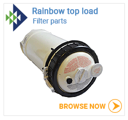 Rainbow top load filter parts