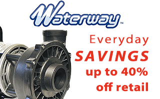 Waterway hot tub pump Sale